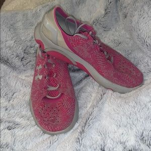 Youth Under armor shoes!!